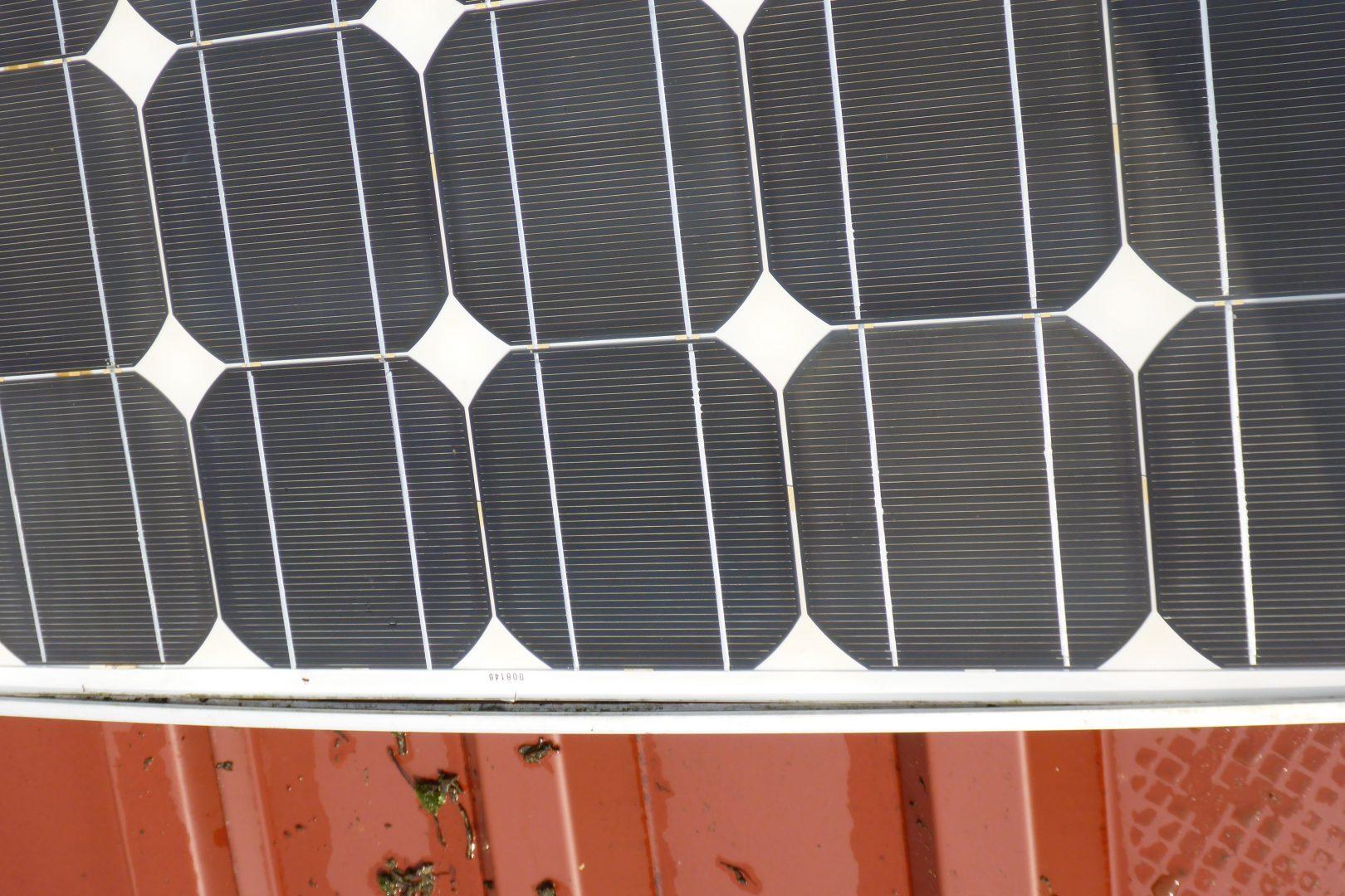 Photovoltaikreinigung Rahmenschäden