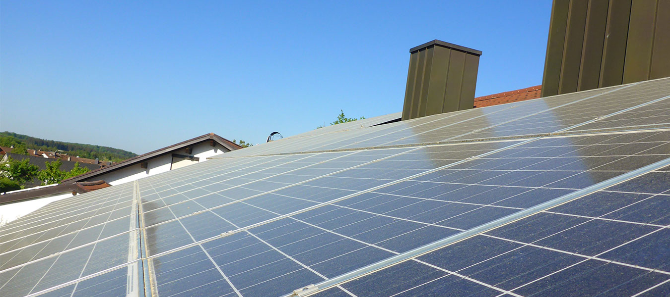 verschmutzte Kunden Photovoltaikanlage der Ökologischen Solarreinigung